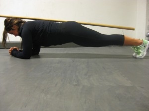 Plankan med trepunksstöd