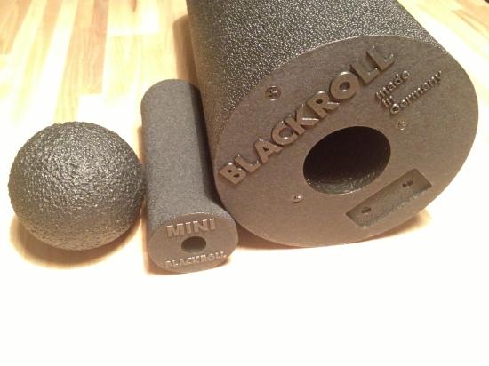 Blackroll, mini blackroll och boll