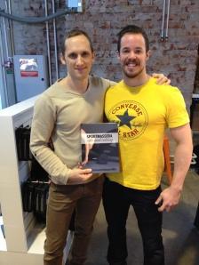 Jag och modellen från boken, Eric Ericsson